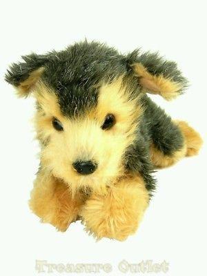 Aurora Stuffed Plush Beanie Yorkie Yorkshire Terrier Puppy Dog 12in