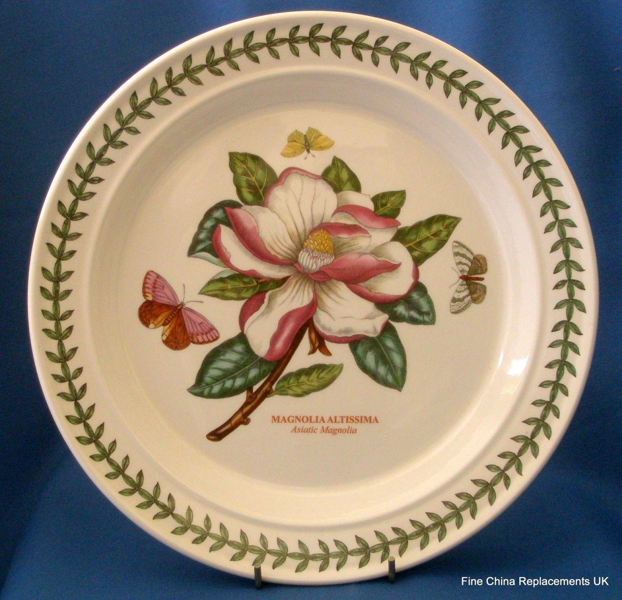 Fine China Replacements UK - Portmeirion Botanic Garden Dinner Plate (// & Fine China Replacements UK - Portmeirion Botanic Garden Dinner Plate ...