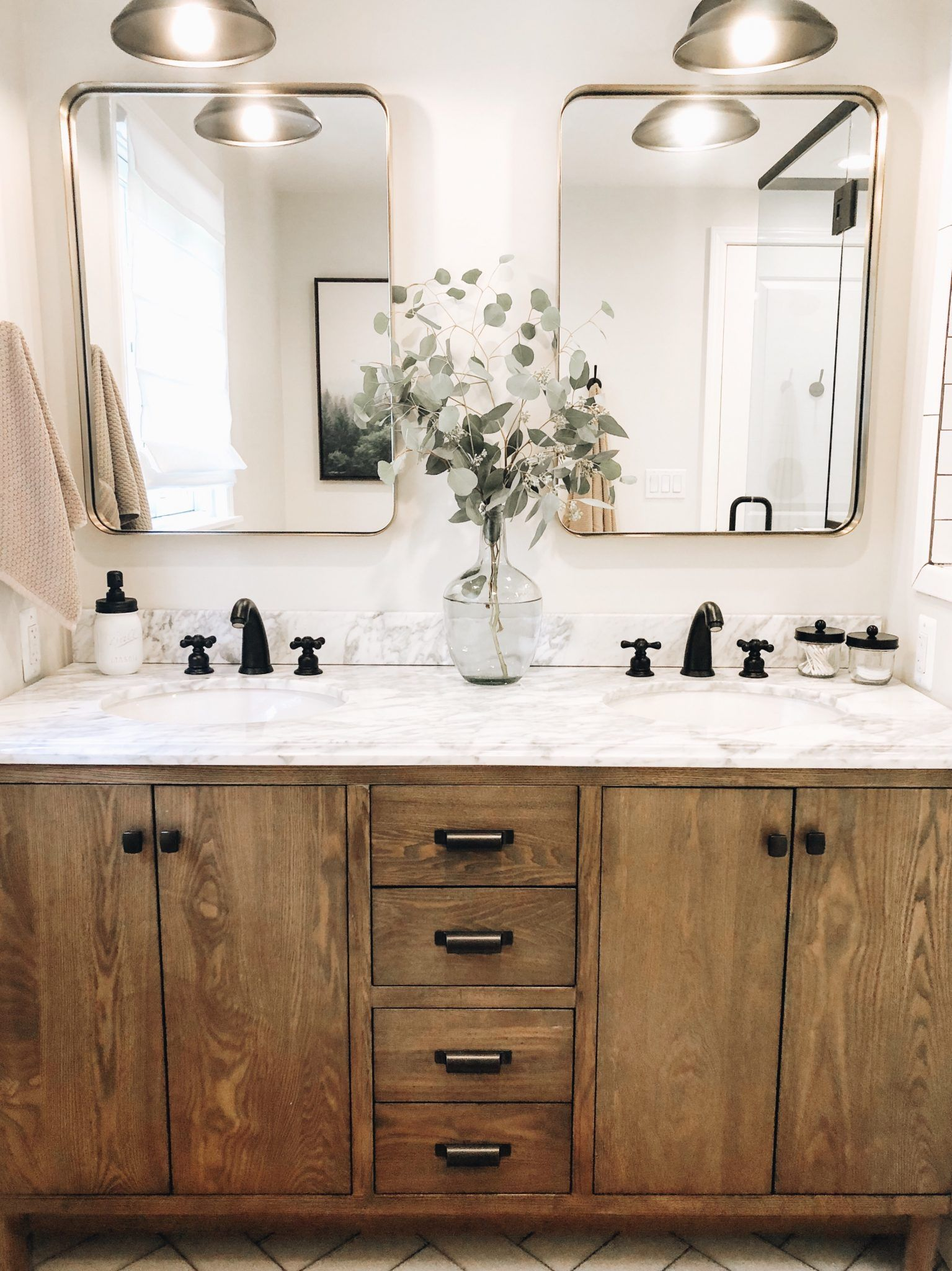 Photo of Master Bathroom Reveal | Daily Splendor