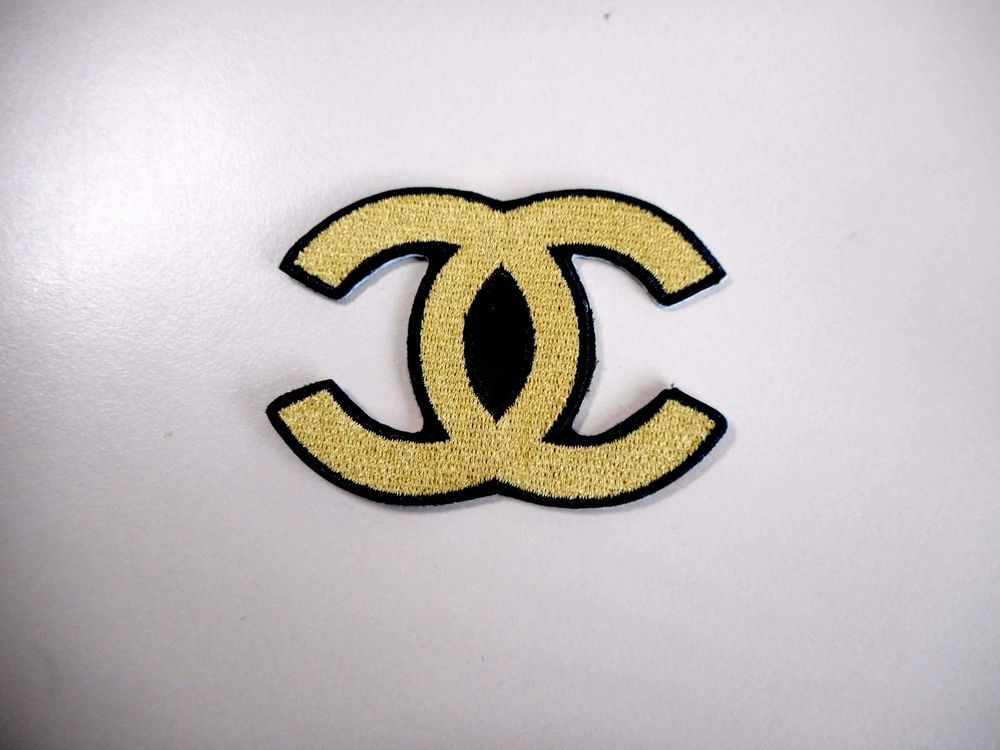 DESIGNER CC 5 BRAND IRON ON SEW PATCH EMBROIDERED BADGE