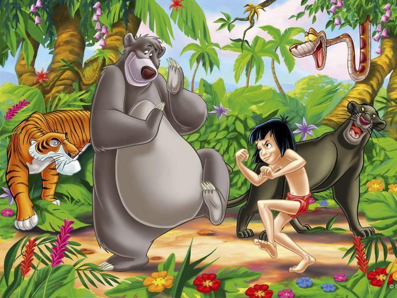 Fondos De Pantalla De El Libro De La Selva Wallpapers De El Libro De La Selva Jungle Book Jungle Book Birthday Disney Wallpaper
