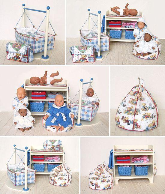 The Baby Room - Baby Born pattern | poppen kleren | Pinterest ...