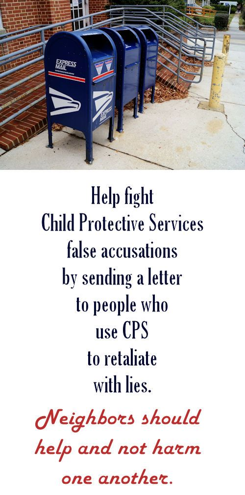 Writing A Letter To Child Protective Services