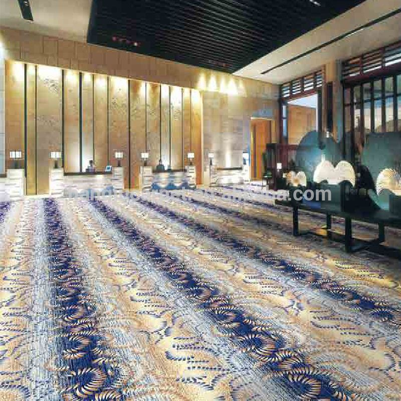 Fireproof Axminster Wall To Wall Banquet Hall Carpets With ...