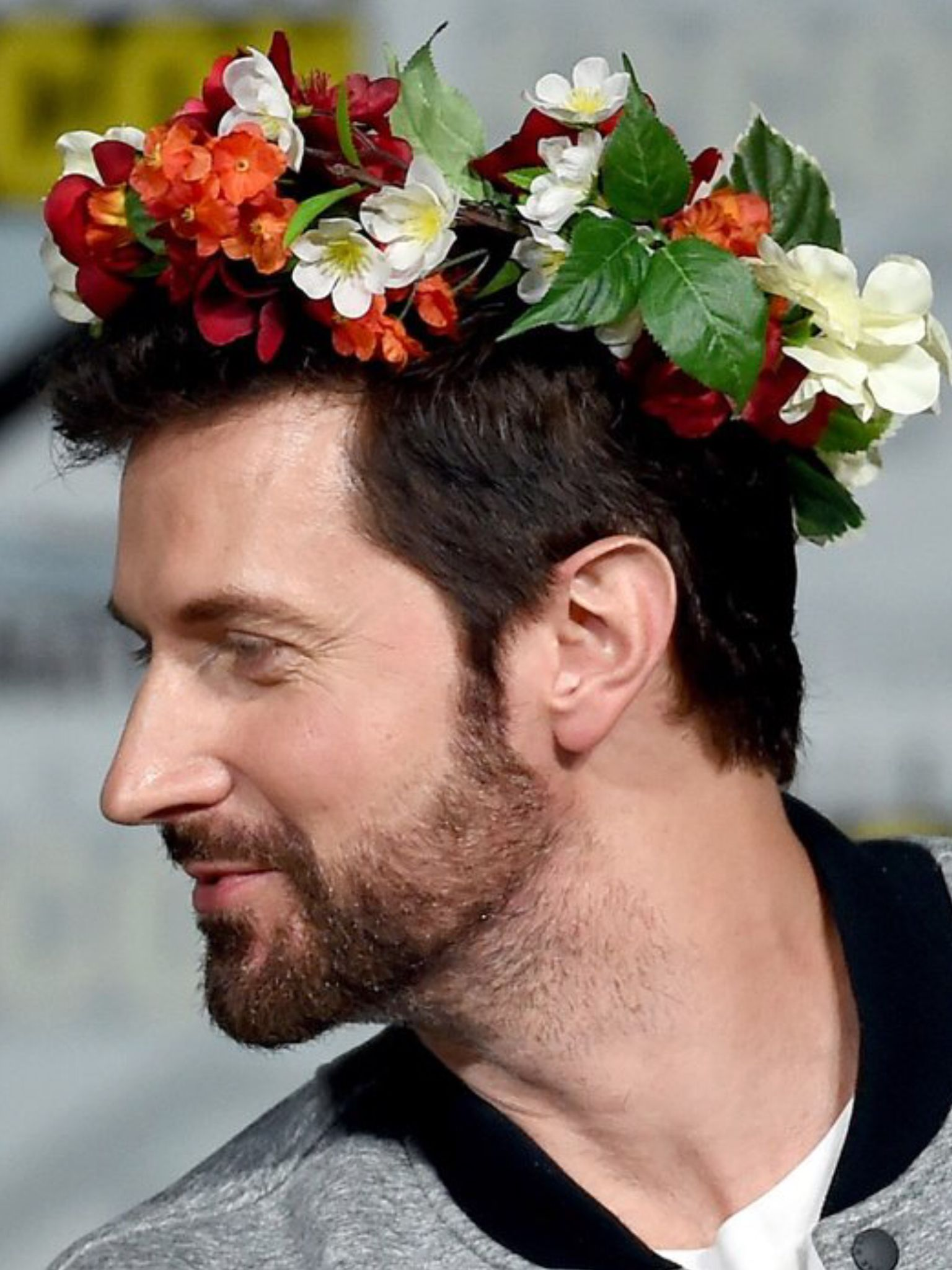 Ra With Hannibal Flower Crown At Sdcc 2015 Hannibal Pinterest