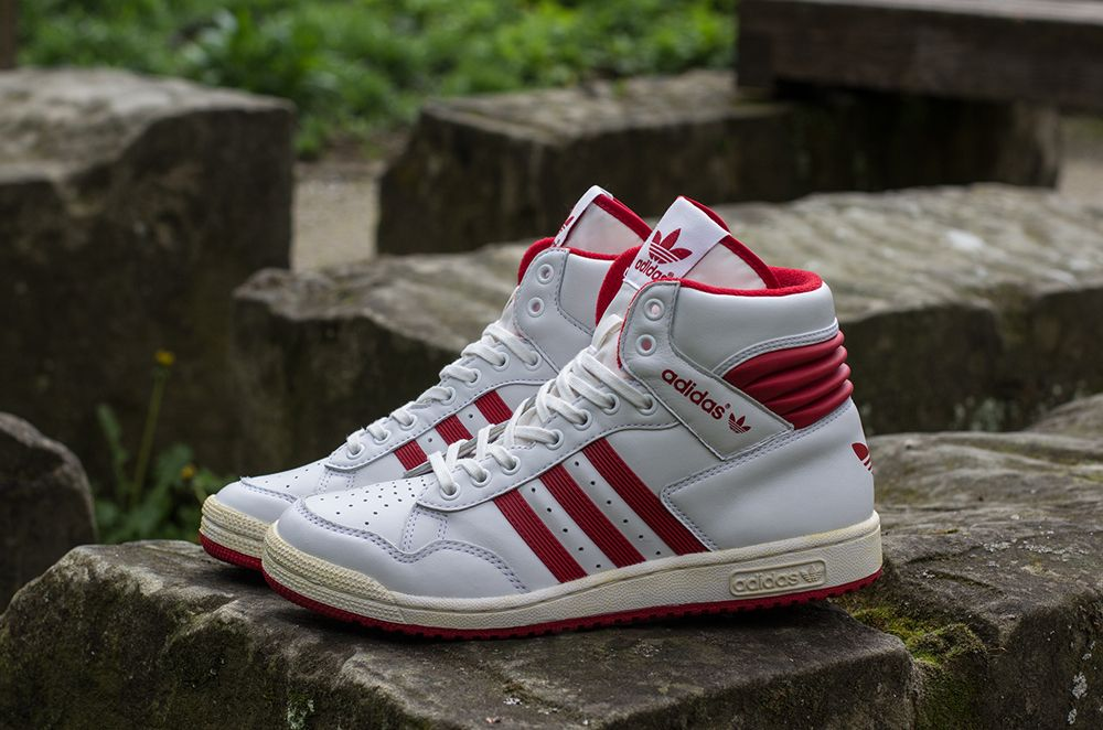 hot sale online ce89a f5529 Preview  adidas Pro Conference Hi   White   Uni Red