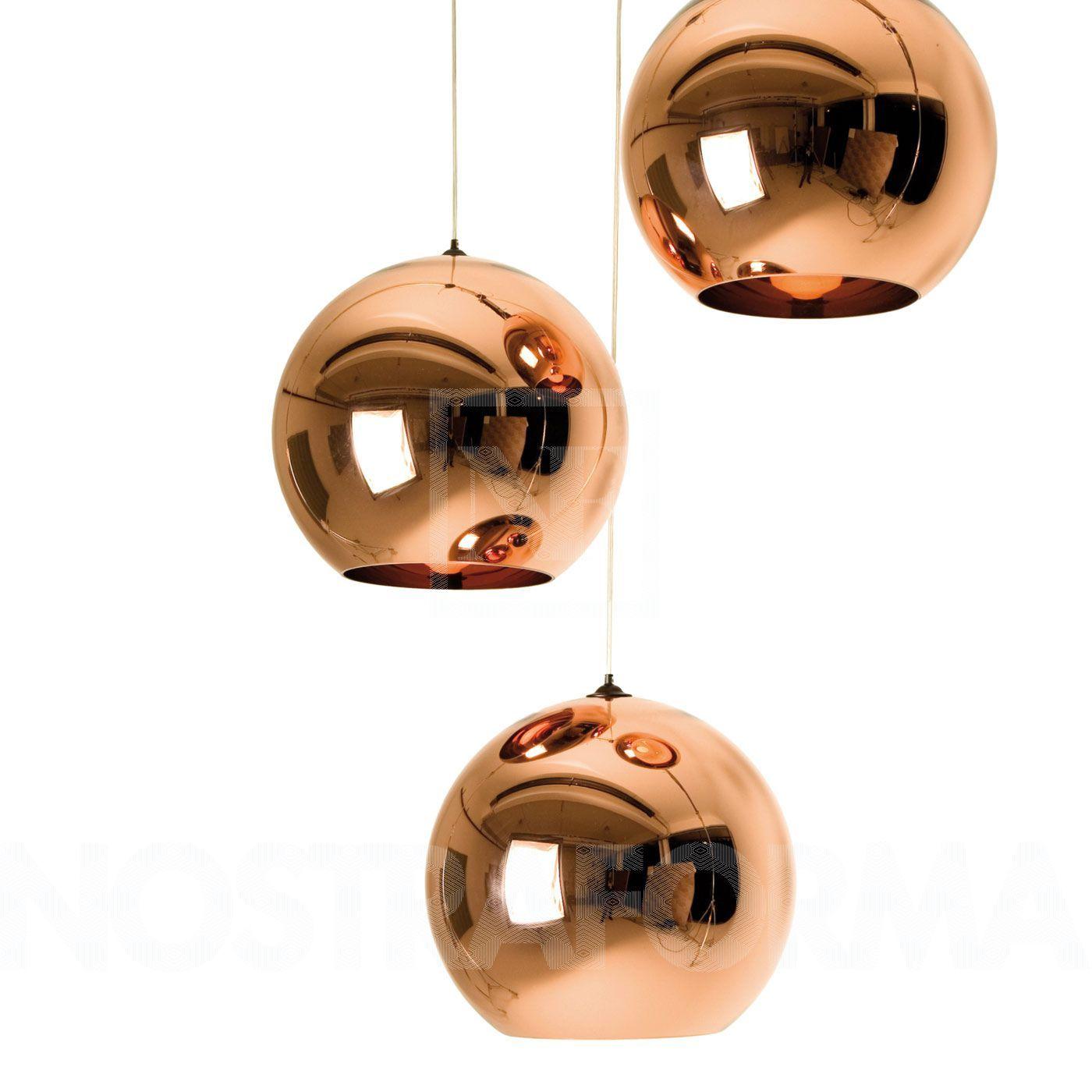Tom Dixon Copper Shade 25 Pendelleuchte » Design Leuchten, Lampen ...