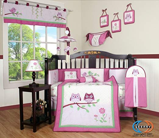 Boutique Pink Entranced Forest 13pcs Crib Bedding Sets Review