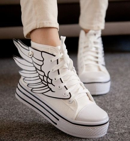 "Wings canvas shoes (24$) ♡Discount Code: ""kvnai"" on ALL ITEMS! ♡ (Don't remove caption pls)"