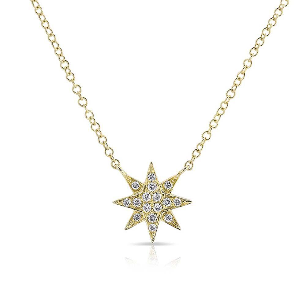 Iconery diamond starburst necklace fine jewelry pretty jewelry