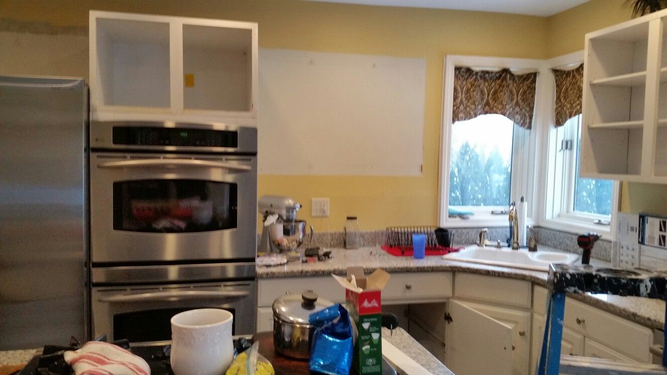 Removing Old Cabinets Dan S Kitchen Remodel In 2019 Kitchen