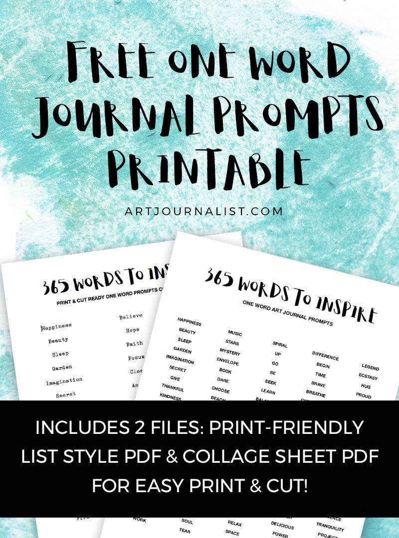 365 Art Journal Ideas