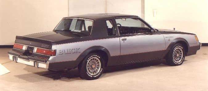 BEFORE BLACK - 1982 GN Prototype