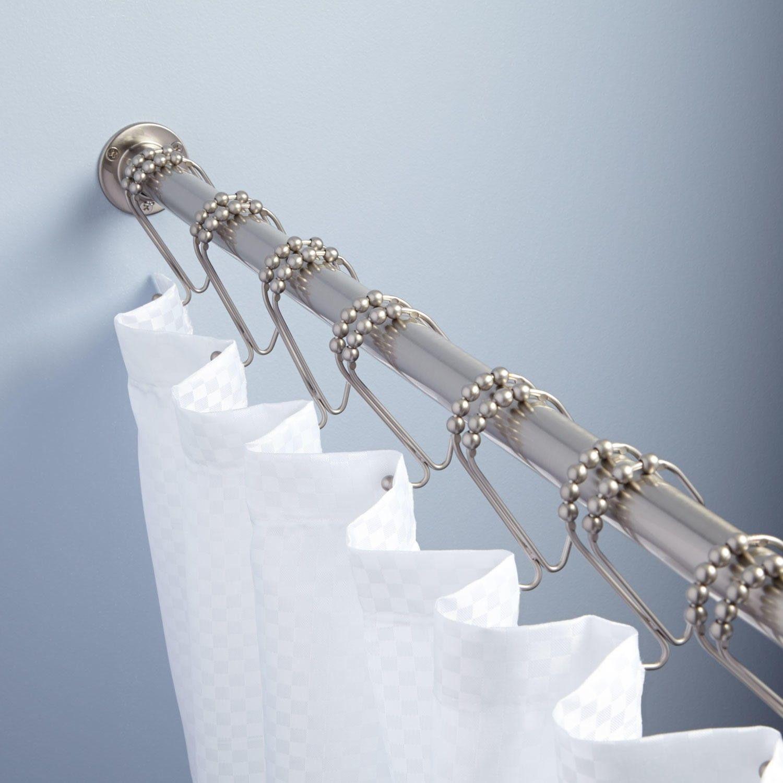 Heavy Duty Straight Shower Curtain Rod Shower Curtain Rods