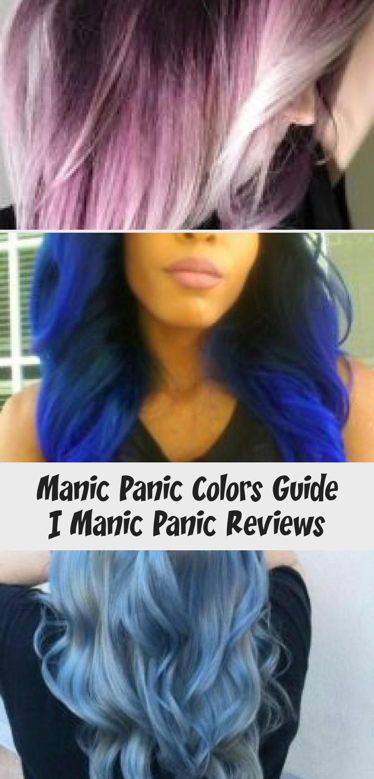 Manic Panic Colors Guide Manicpanic Colors Hairdye Guide Dyedhaircolors Dyedhairbrown Uniquedyedhair Dyedh In 2020 Manic Panic Reviews Dyed Hair Brown Hair Dye