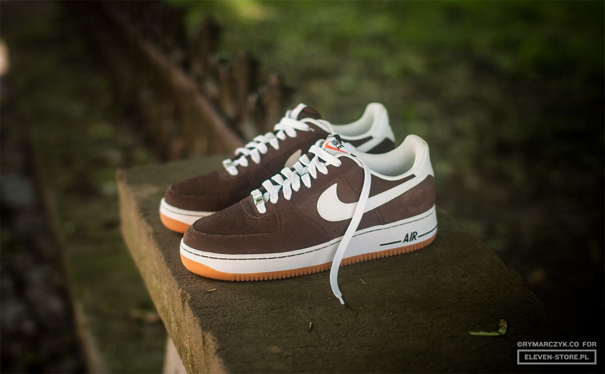 Nike Air Force 1 Low - Brown/White-Gum | Sole Collector