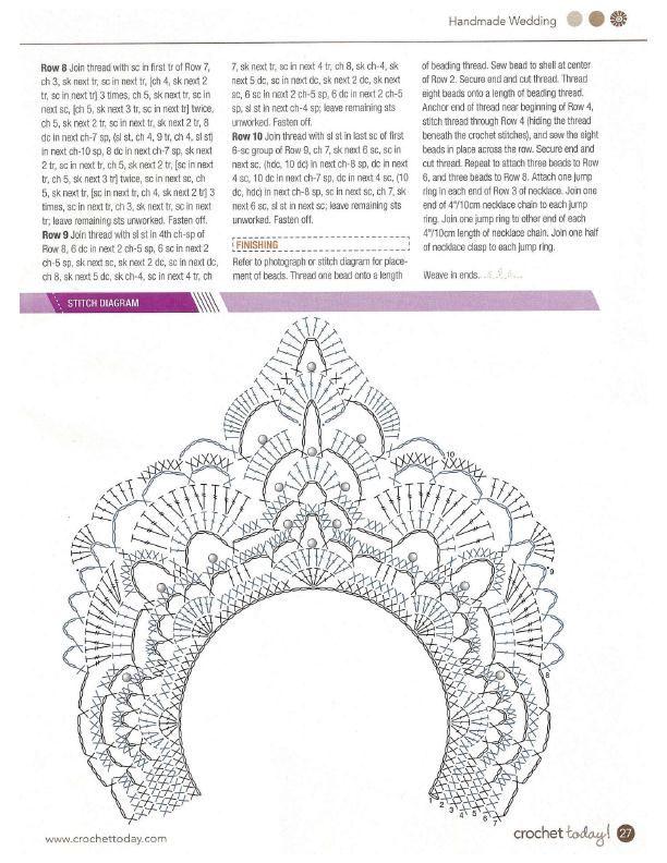 15.jpg (612×792) | Crochet patrones gratis/free crochet pattern ...