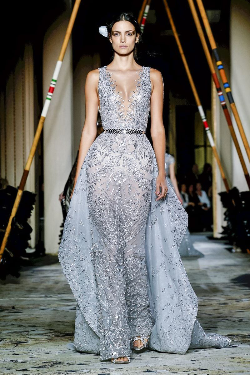 Zuhair murad couture spring summer paris label zuhair murad