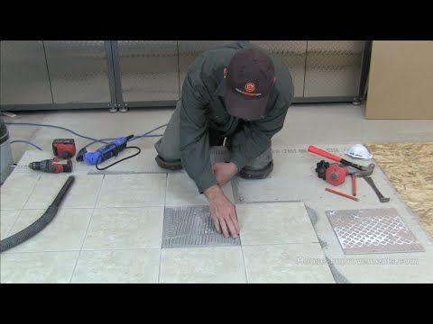 How To Replace A Single Crackedbroken Floor Tile Youtube Tile