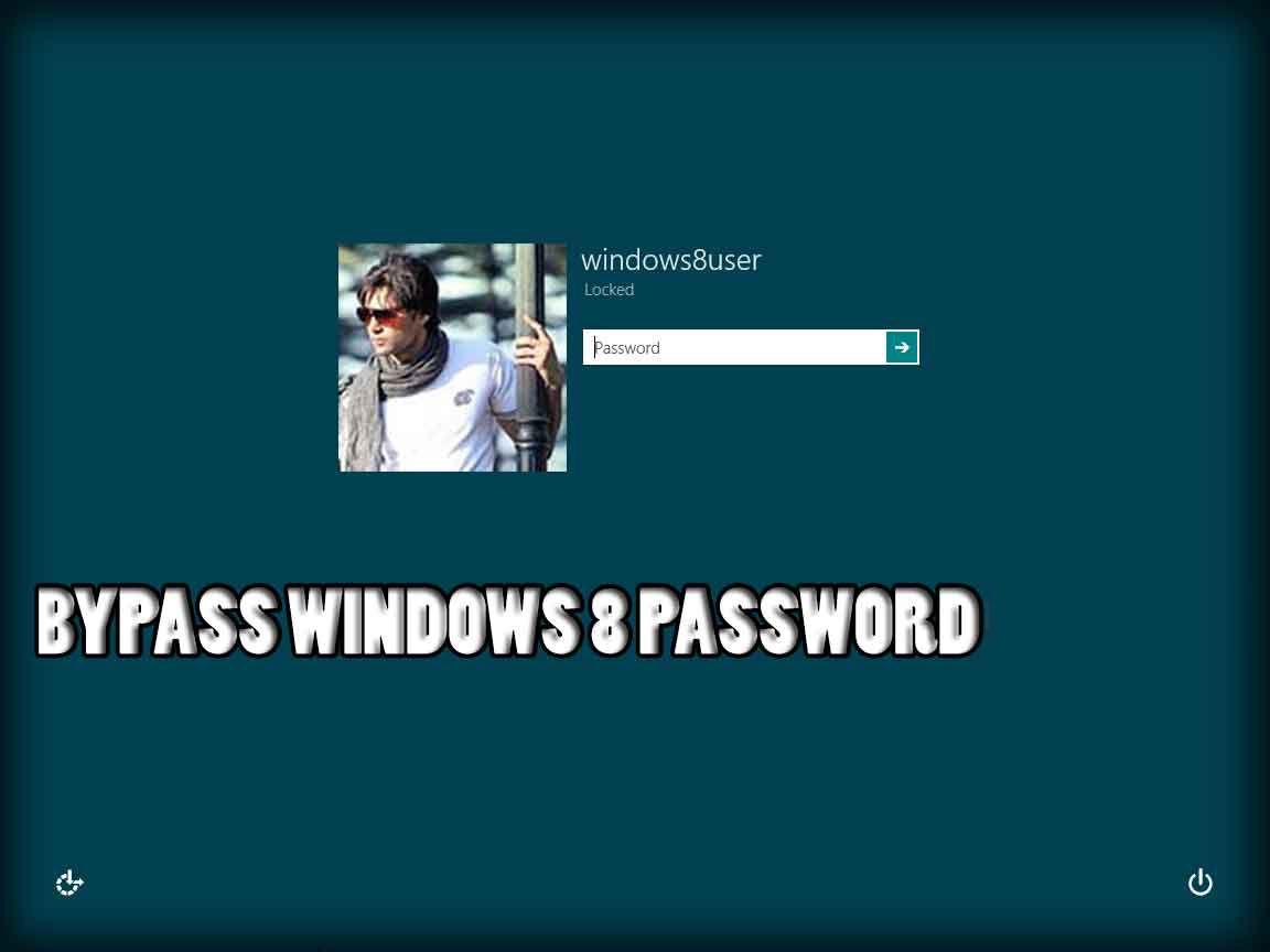 bypass windows 8 login