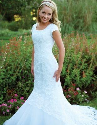 Mormon Wedding Dresses | Fashion Club | Once Upon a Dream ...