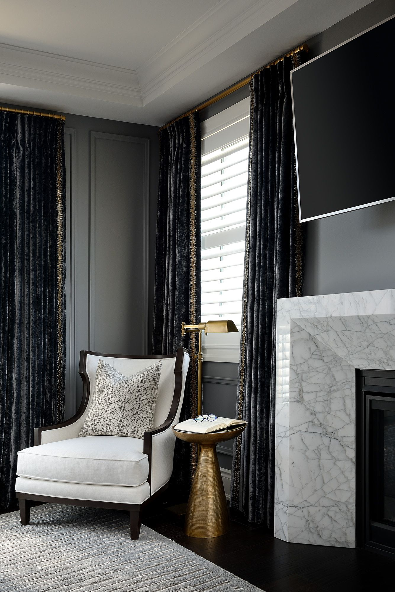 The Boulevard Andrew Pike Interiors Fireplace Surrounds