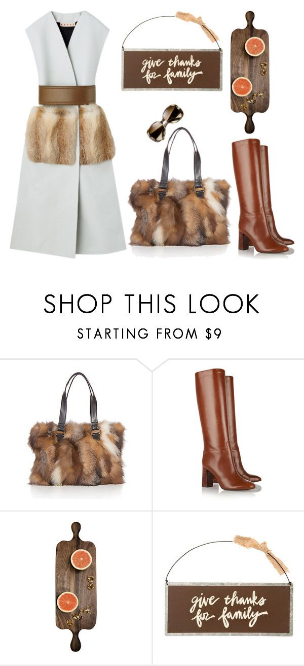 """thankfully"" by didesi ❤ liked on Polyvore featuring Overland Sheepskin Co., Tory Burch and Primitives By Kathy"