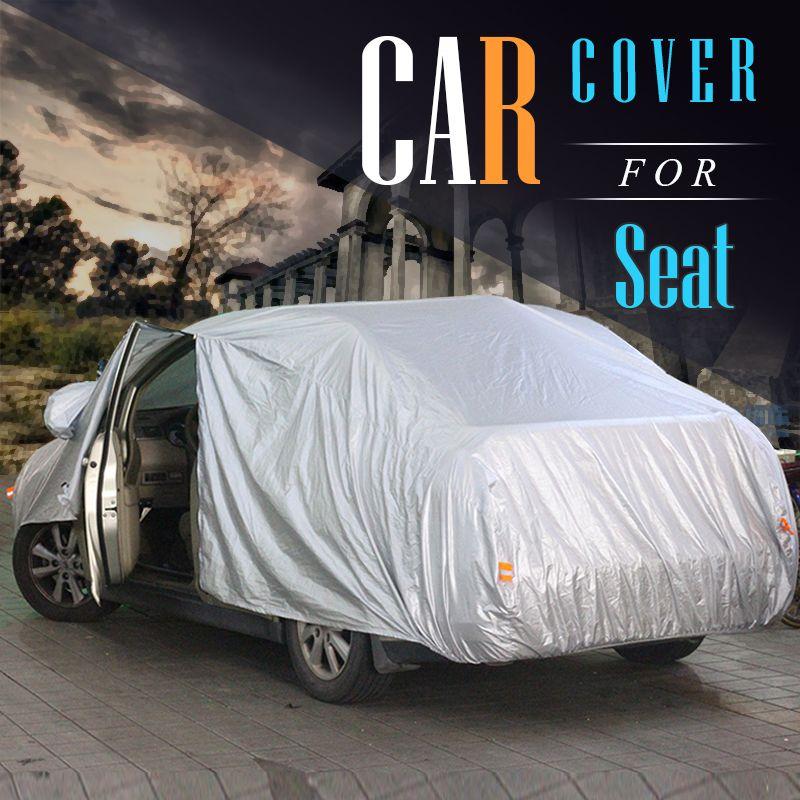 Cawanerl Car Cover Outdoor & Indoor Anti UV Sun Rain Snow
