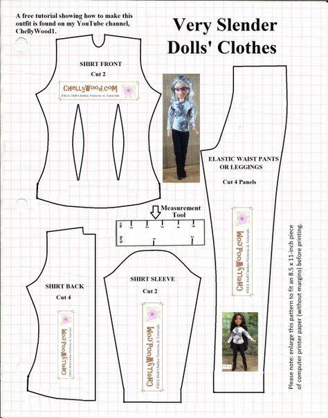 Please Visit Chellywood For Free Printable Sewing Patterns To
