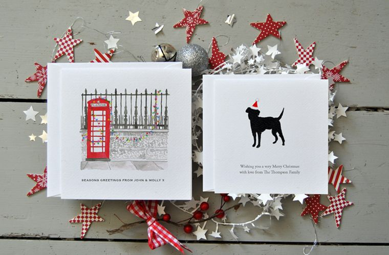 Luxury personalised christmas cards with exclusive artworks by luxury personalised christmas cards with exclusive artworks by british artists m4hsunfo