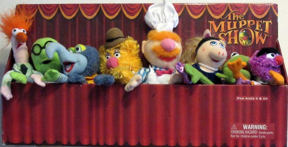 Muppet Show Plush Dolls set of 8 NIB Sababa Toys Beaker