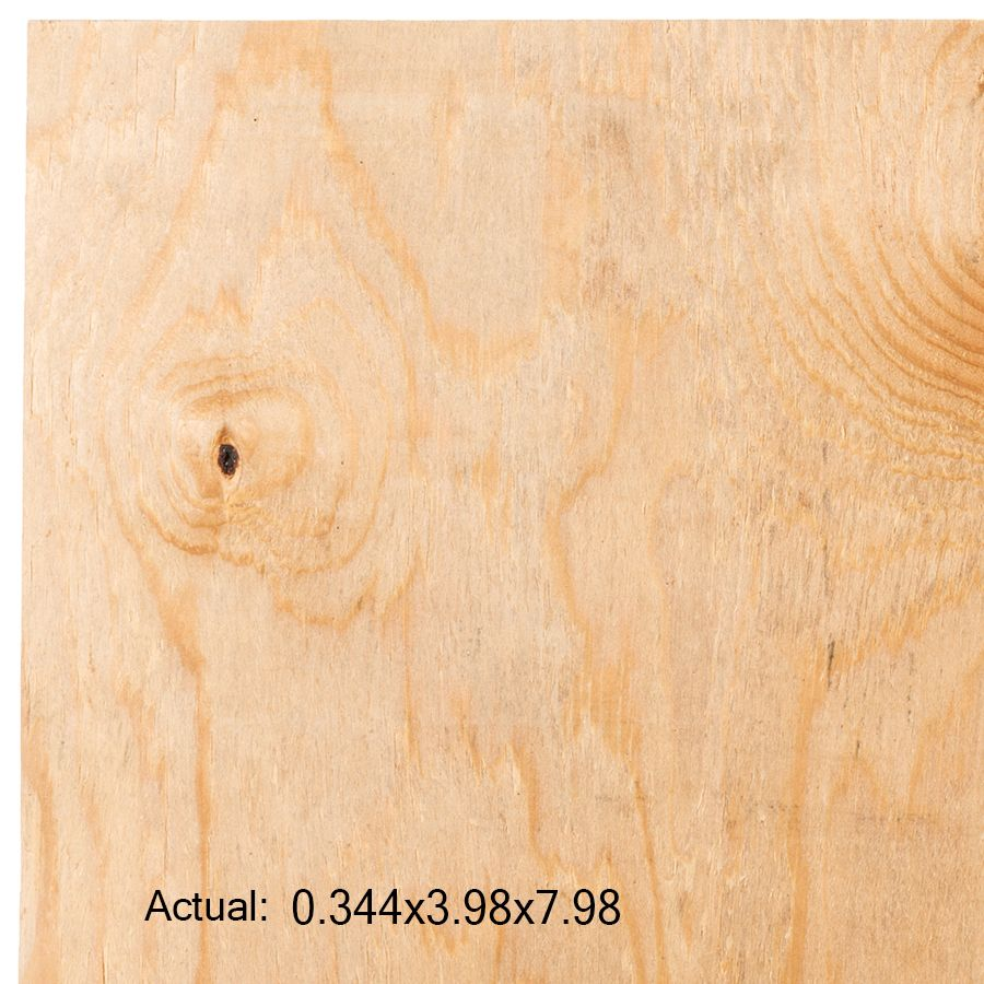 Plytanium 3 8 Cat Ps1 09 Square Structural Pine Sheathing Application As 4 X 8 Lowes Com Pine Plywood Sheathing Plywood