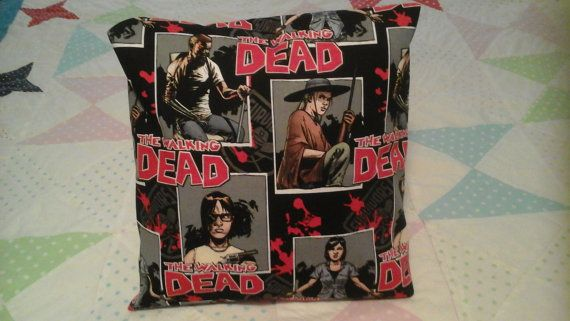 Hand-made comic book THE WALKING DEAD by MawmaRosesCrafts on Etsy