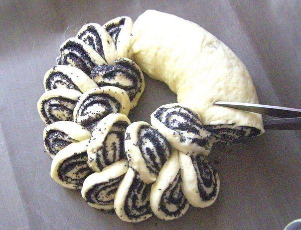 Мясной пирог «Хризантема» - Cerca con Google