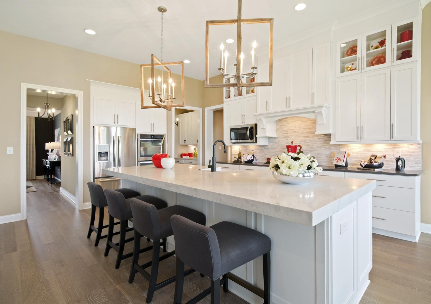 Crestwood Kitchen | Indianapolis, IN - Drees Homes | Pinterest ...