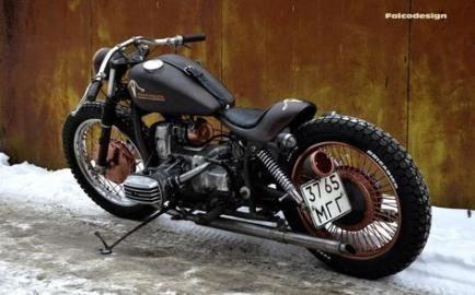 Motocicletas indias pintando  Indian motorcycles
