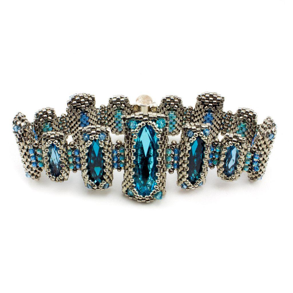 Nara Beads: Mini Windows Of Sainte Chapelle Bracelet Kit