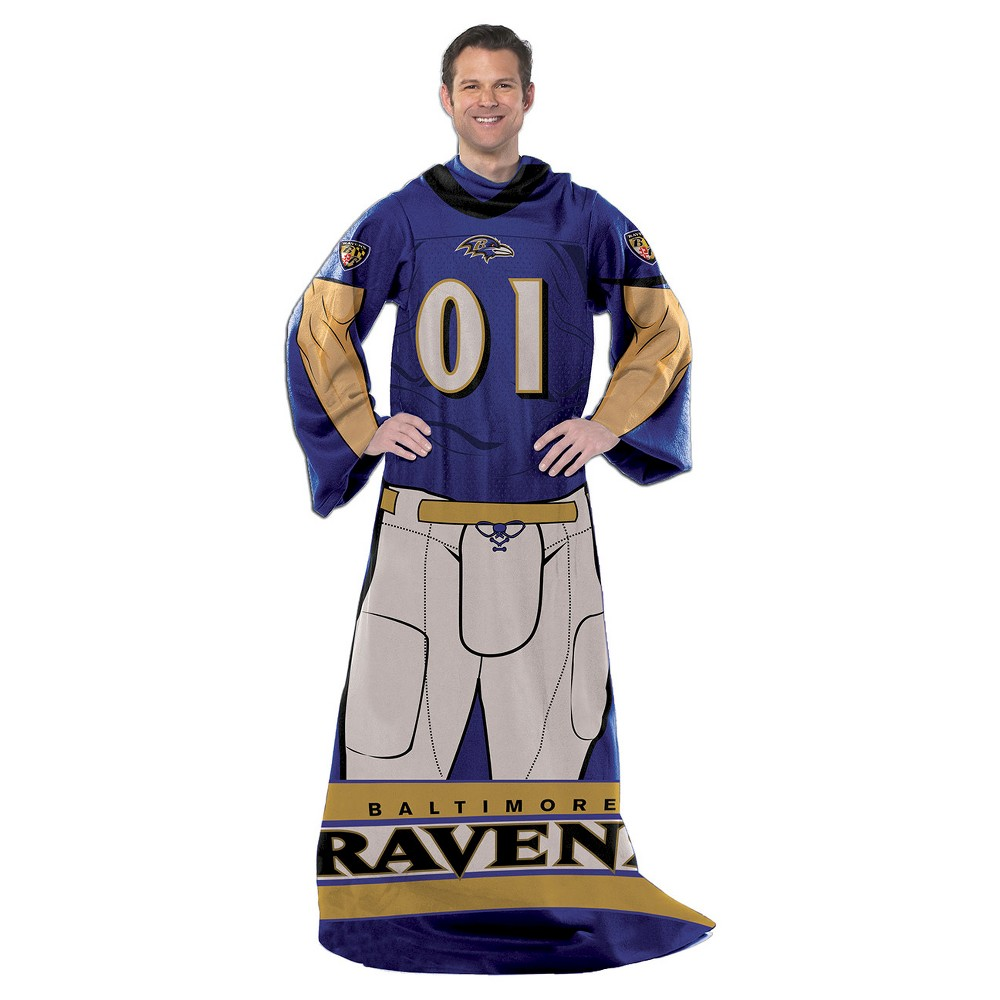 Northwest Baltimore Ravens Uniform Comfy Throw
