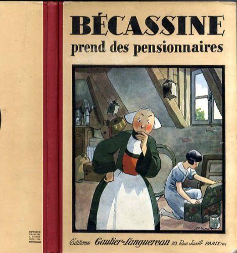 Becassine Prend Des Pensionnaires 1934 Eo Etat Rare Be Becassine Personnage De Bande Dessinee Illustrations