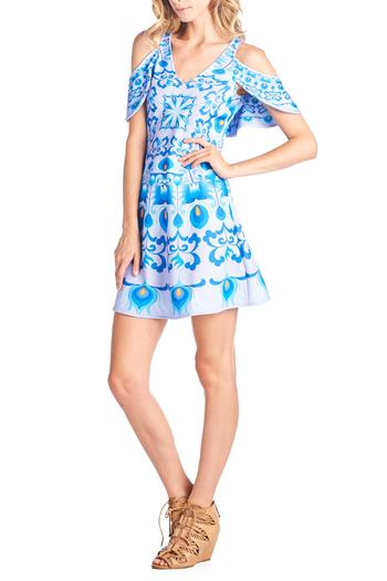 45$  Buy now - http://viygb.justgood.pw/vig/item.php?t=7wvzzft22345 - Cut-Out Print Dress