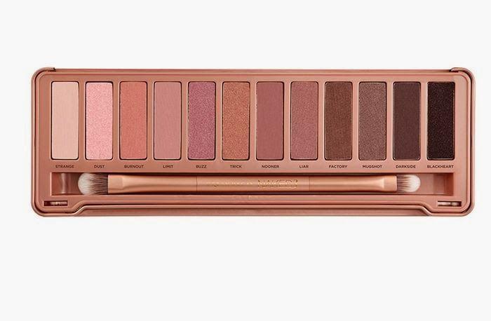 Law of Taste: Weekend Make-Up Craving / Vikend žudnja za šminkom Urban Decay Naked 3 Palette