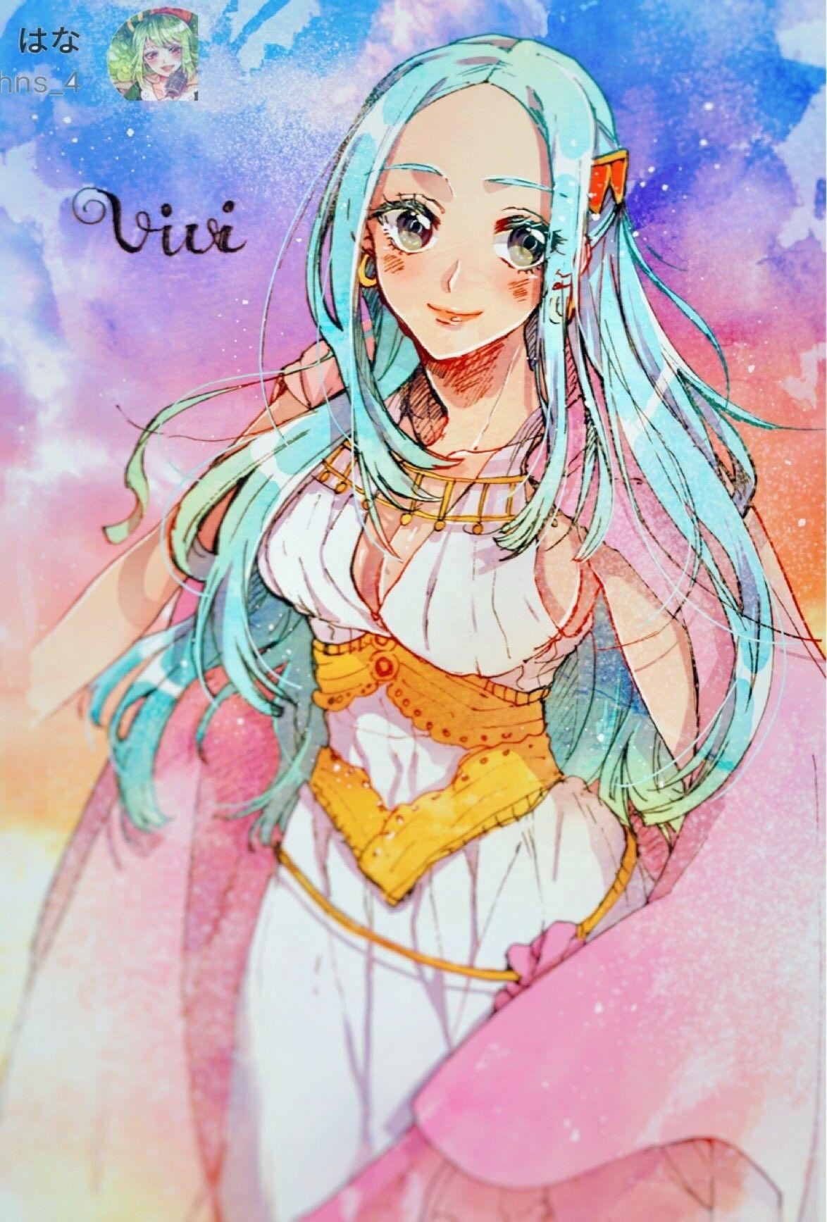 Vivi Nefertari Manga Anime One Piece One Piece Manga One Piece