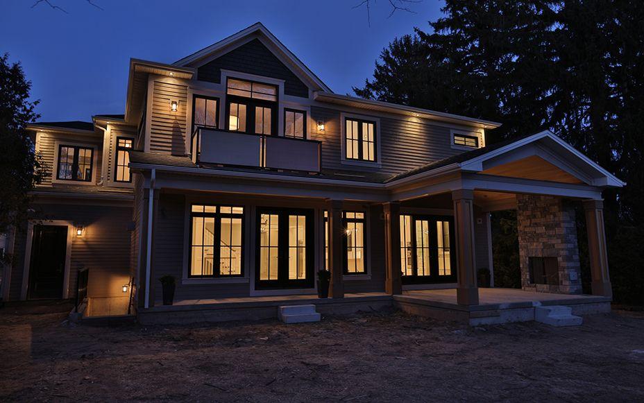 Poplar Drive Custom Home