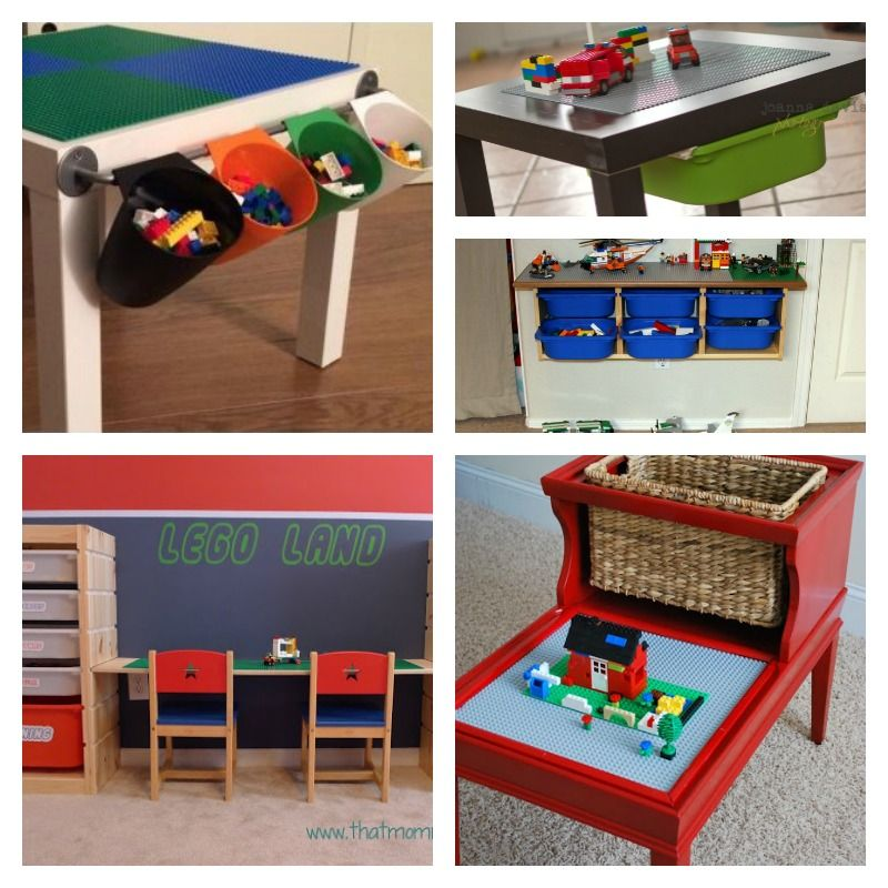 Diy Lego Storage And Play Table Home Decor Diy