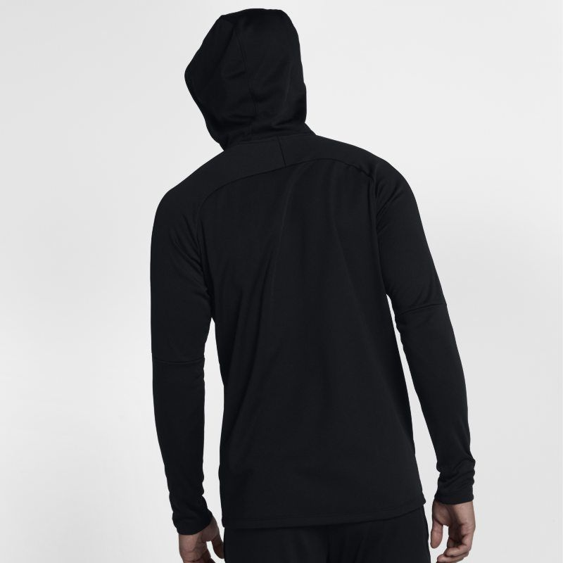 e7e6d881 Nike Dri-FIT Academy Men's Pullover Football Hoodie - Black ...