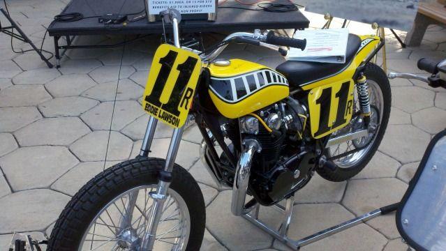 Yamaha 650 Flat Track Racers The Yamaha Tz 750 Powered