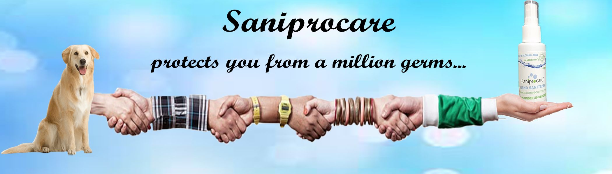 Saniprocare Hand Sanitizer Will Protect You From Million Of Germs