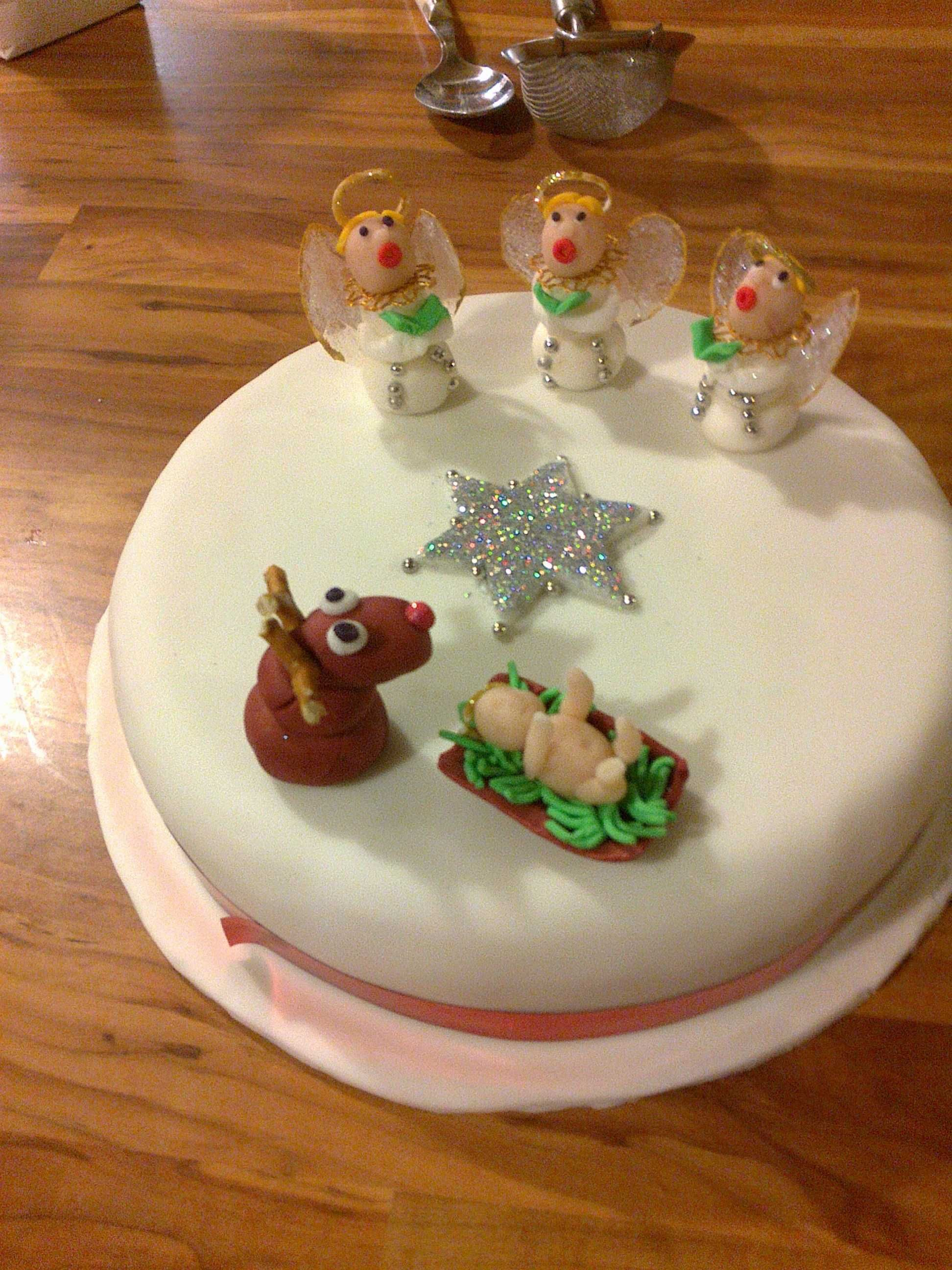 Christmas Cake at Nancy Birtwhistle | Christmas cake, Cake ...