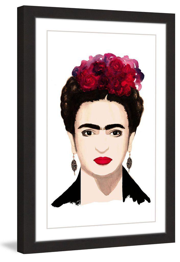Frida Kahlo | Framed Print Art | Pinterest | Dena, Paper artwork and ...
