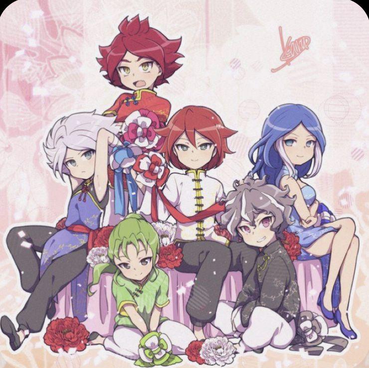 عائلة غوران ابطال الكره زيلا و ناموجو واخضر Eleventh Anime Cute Anime Guys